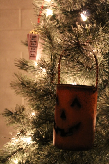 jack o lantern ornament