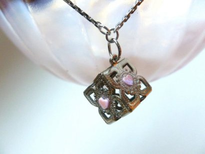 companion cube necklace