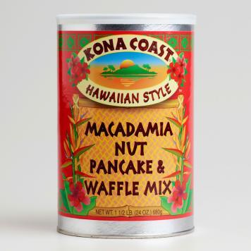 kona coast macadamia pancake mix