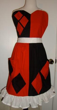 Harley Quinn apron