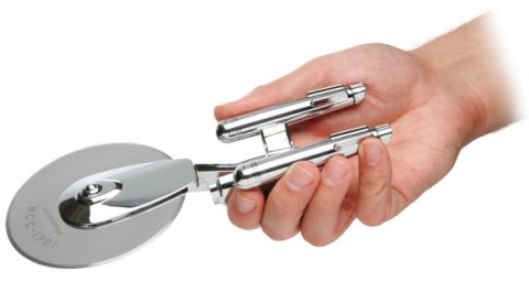 star trek pizza cutter