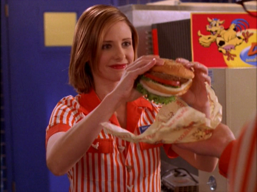 Buffy Fast Food Episode