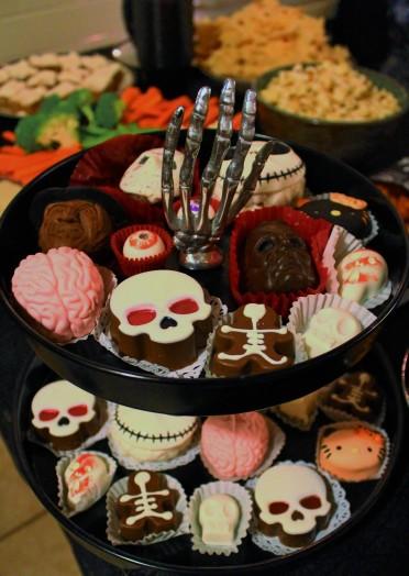 horror chocolates Truffle Cottage