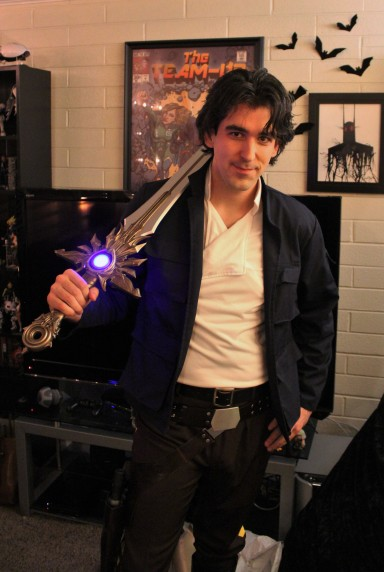 Han Solo cosplay